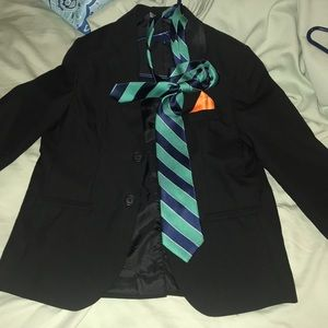 Boys blazer and tie